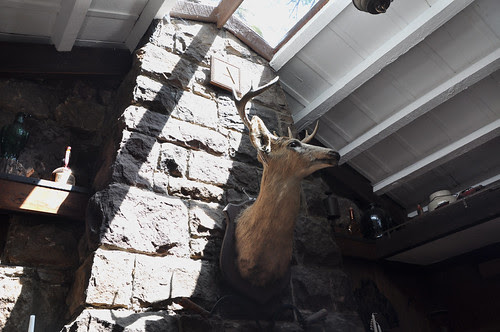 little cabin deer