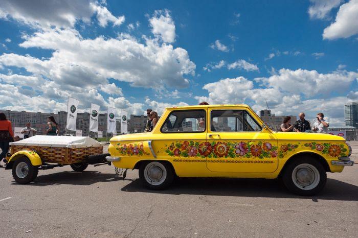 Фотографии с фестиваля аэрографии в Москве