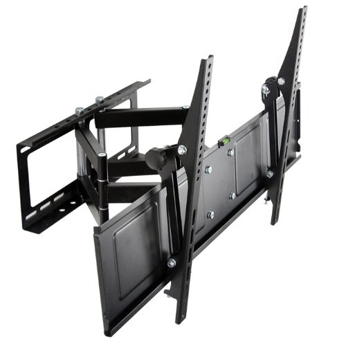 Loctek 42 65 articulating low profile wall mount - Angled wall tv mount ...