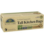 If You Care Certified Compostable Tall Kitchen Bags 12 Bags