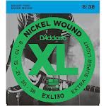 D'Addario EXL130 Nickel Wound Extra-Super Light Electric Guitar Strings