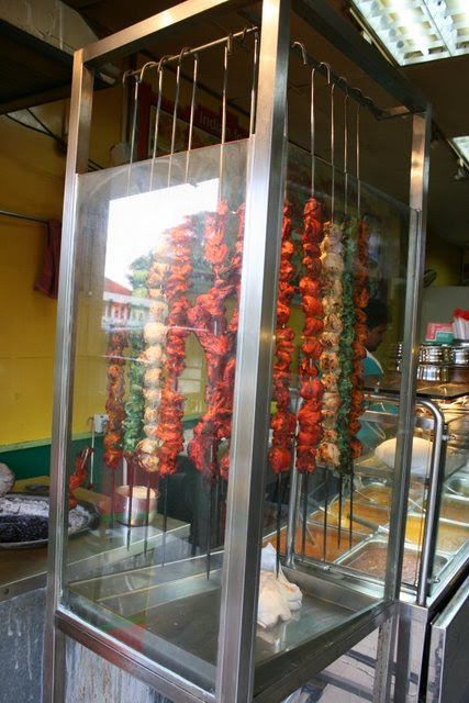 Tandoori display