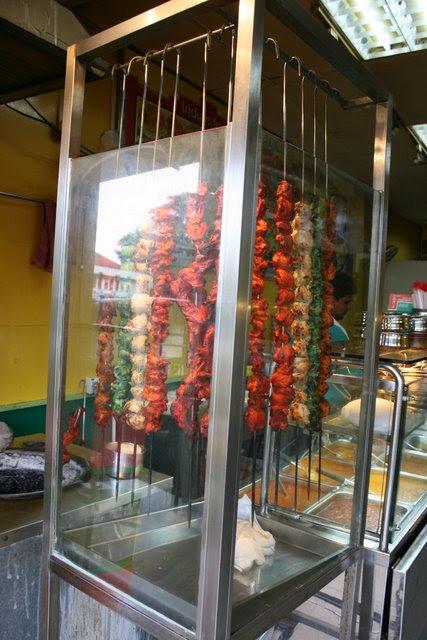 Tandoori display