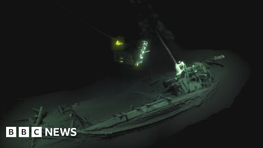 'Oldest intact wreck' found in Black Sea