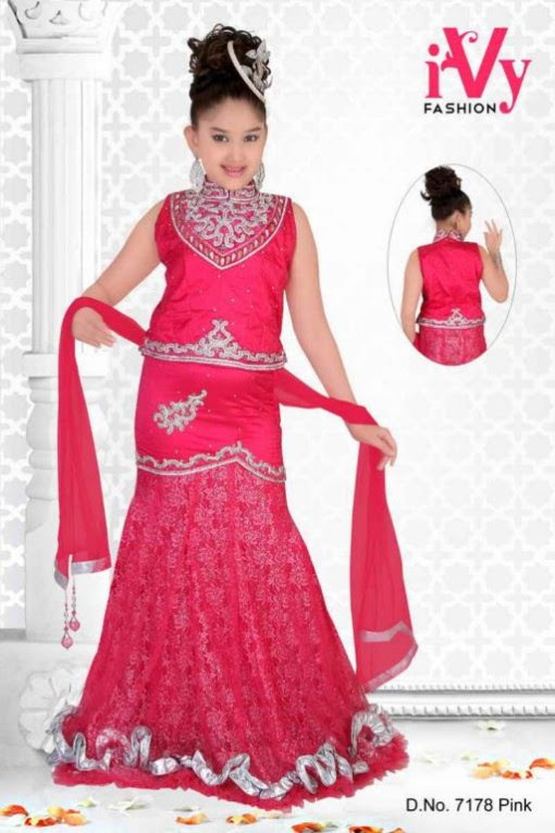 Trade-india-Summer-Anarkali-Beautiful-Cute-Eid-Dresses-2013-For-Kids-Childrens-