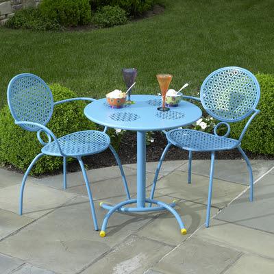 Outdoor Bistro Chairstables Martha Stewart Kmart Outdoor