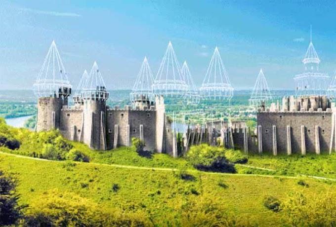 Ερειπωμένα μεσαιωνικά κάστρα της Ευρώπης που επιστρέφουν ψηφιακά στη ζωή