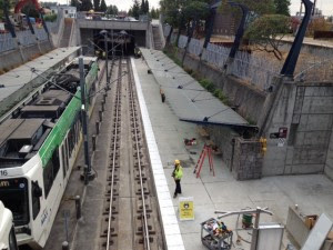 Sunset Transit Center construction wraps up two days early