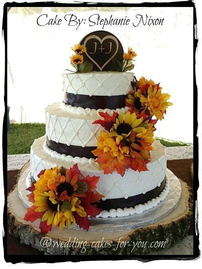 Imagine Fall Wedding Cakes With Bright and Colorful Autumn