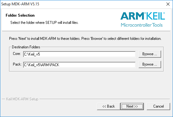 MDK ARM Directory