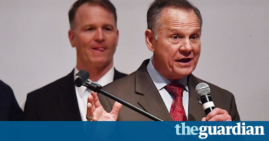'It's not over': Roy Moore refuses to concede in Alabama Senate race – video