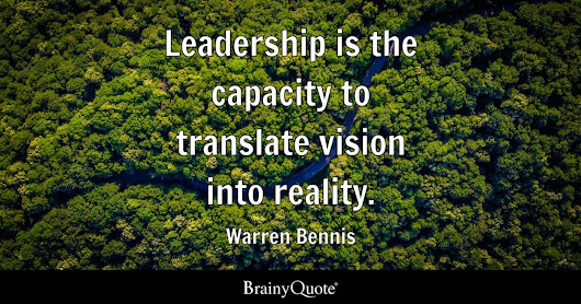 Warren Bennis Quotes