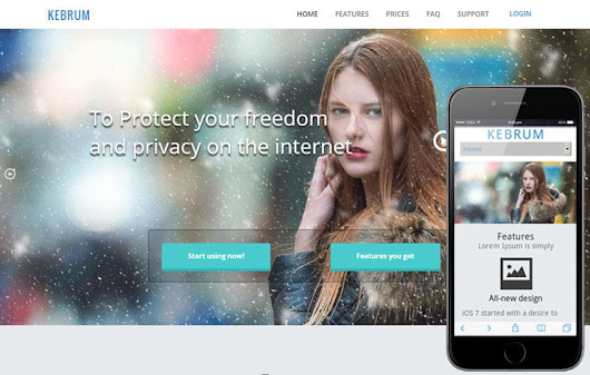 Kebrum a Product based Flat Bootstrap Responsive web template by w3layouts