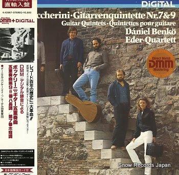 BENKO, DANIEL boccherini; gitarrenquintette nr.7 & 9