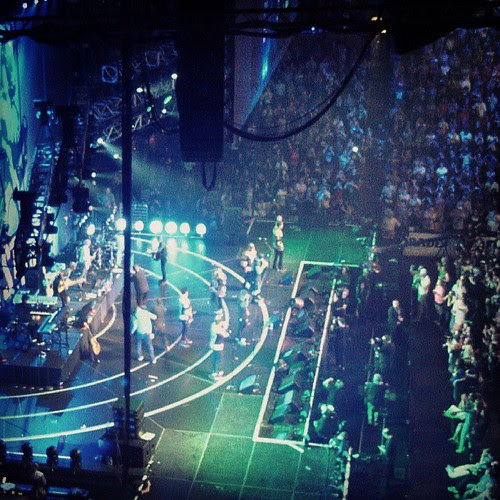 Where else can you see New Kids on stage with Dropkicks!? #love #mycity #Concert4Boston #BostonStrong