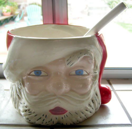 creepy santa punchbowl