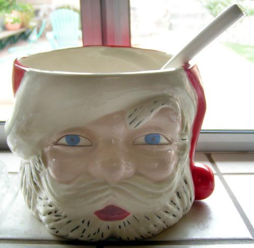 creepy santa punchbowl