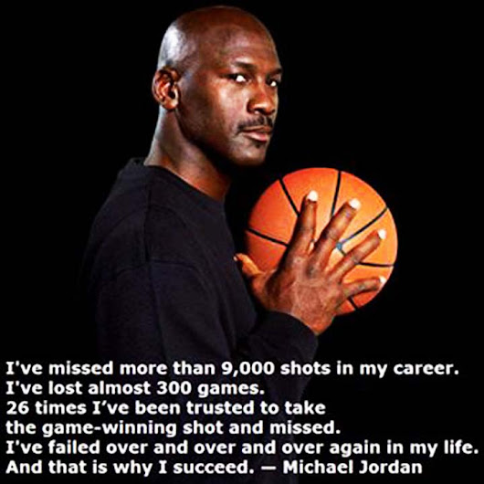 Quotable Quotes: Michael Jordan on Success
