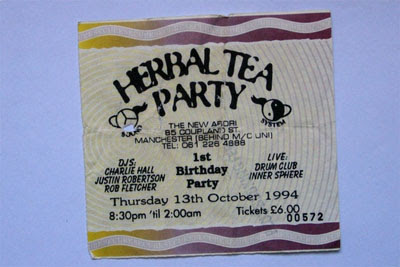 Herbal Tea Party ticket
