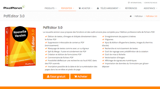 PdfEditor 3.0 - La nouvelle version est enfin là (version Windows)