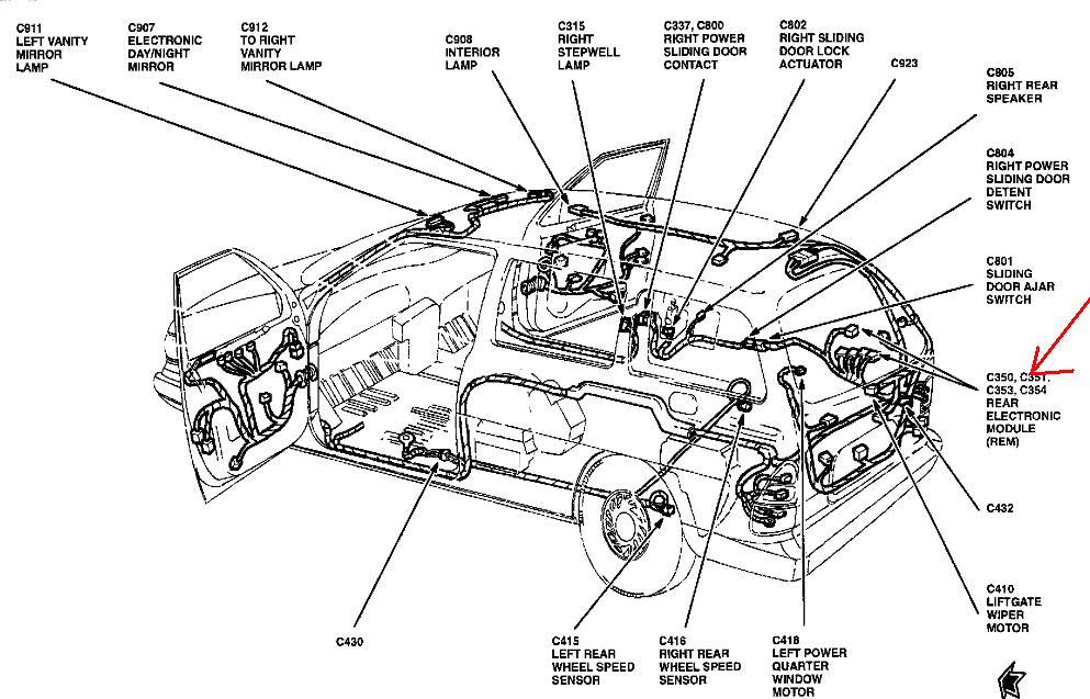 1999 Ford Windstar Wiring Diagram Wiring Diagram Log Village Super A Village Super A Superpolobio It