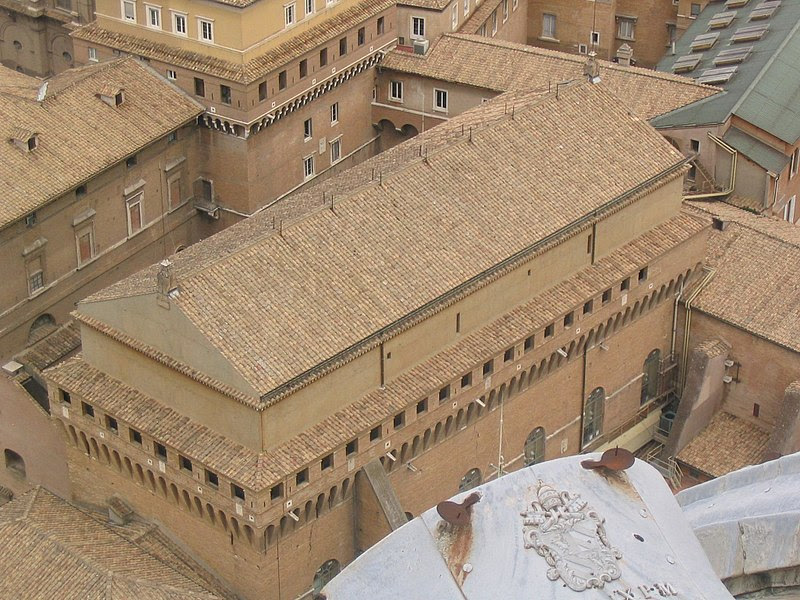 File:Cappella Sistina - 2005.jpg