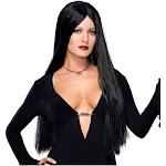 Addams Family - Deluxe Morticia Wig