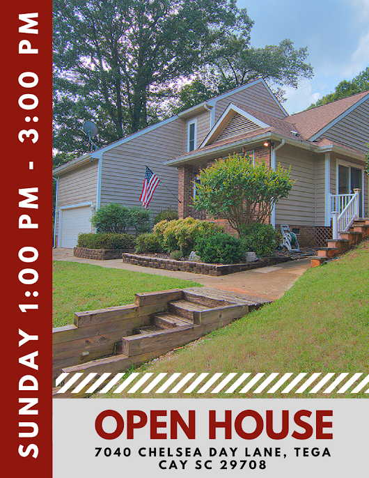 Open House ~ Sunday, 9/24 ~ 1:00 PM - 3:00 PM ~ 7040 Chelsea Day Lane, Tega Cay SC 29708 • Homes Fort Mill and Homes Tega Cay