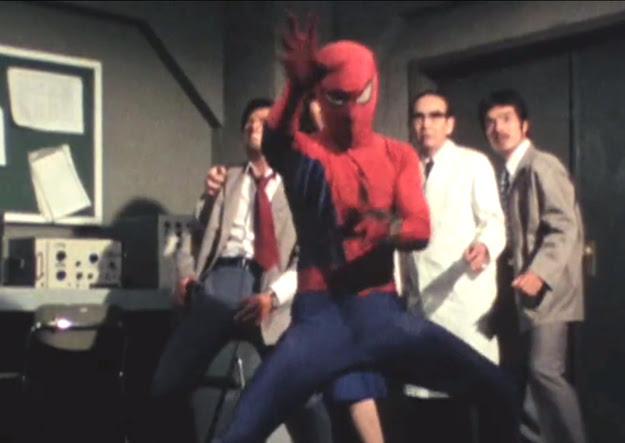 hombre araña japones de 1978
