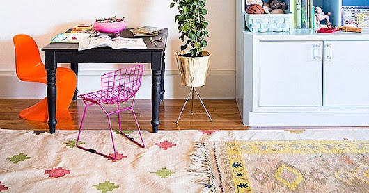How to Layer Area Rugs in Your Home | POPSUGAR Home