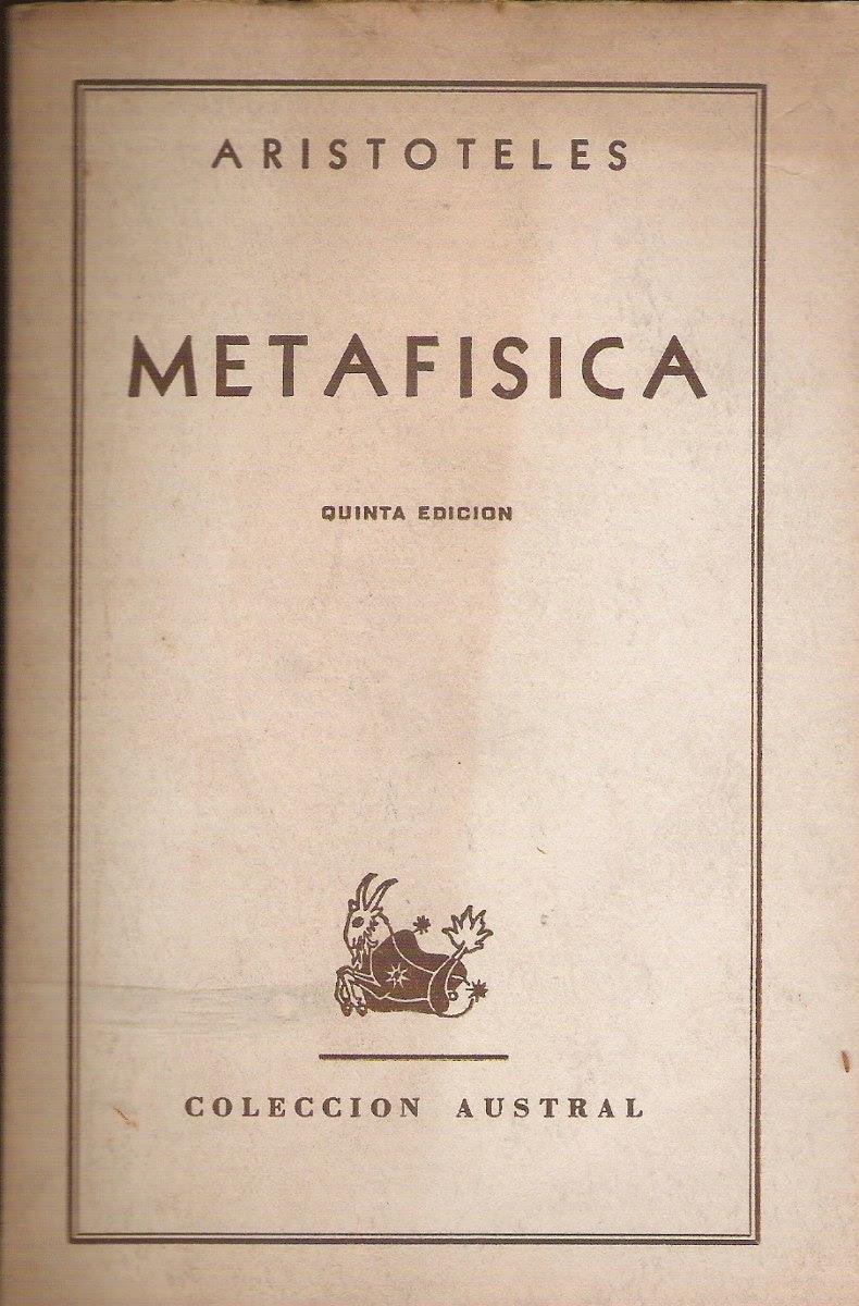 Resultat d'imatges de metafísica de aristóteles