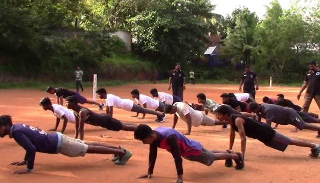 ராணுவத்தில் சேர விரும்பும் இளைஞர்களுக்கு இலவச பயிற்சி