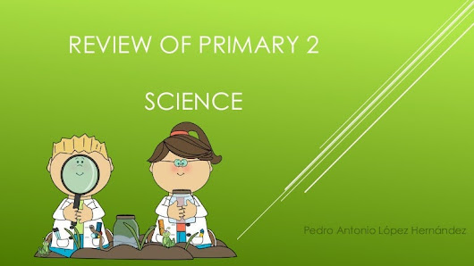 Review of primary 2. Science