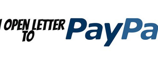 An open letter to Paypal