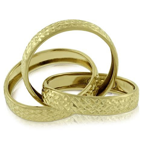 Toscano Triple Rolling Ring 14K   Ben Bridge Jeweler