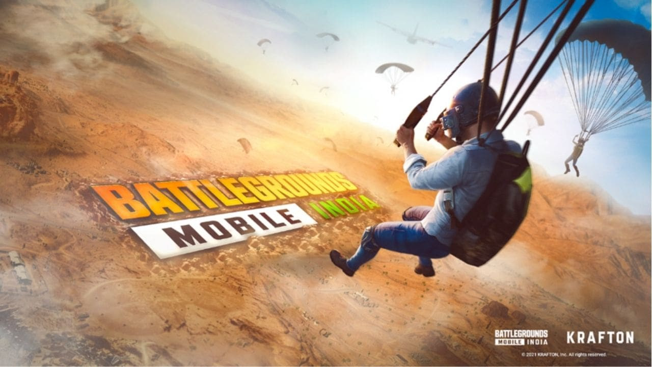 PUBG Mobile has returned as Battlegrounds Mobile India. Image: Krafton