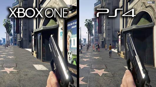 Grand Theft Auto V Xbox One Vs Playstation 4 Graphics Comparison Gta V Xb1 Vs Ps4