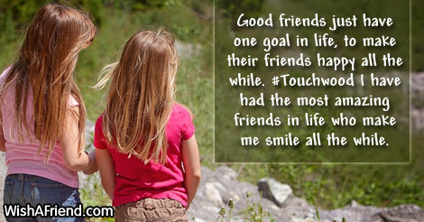 Good Friends Just Have One Goal Whatsapp Status For Friends
