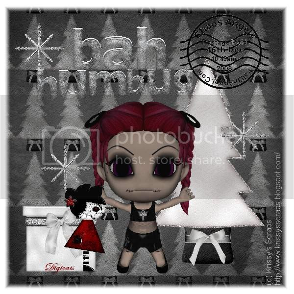 Chibi,Doll,Gothic,Happy Holidays