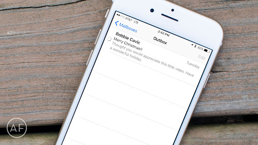 How to fix stuck outbox messages on iPhone - The App Factor