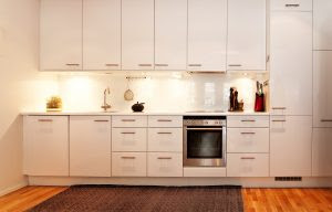 This could be your kitchen   Get a painting contractor to paint your kitchen cabinets   866-802-0640