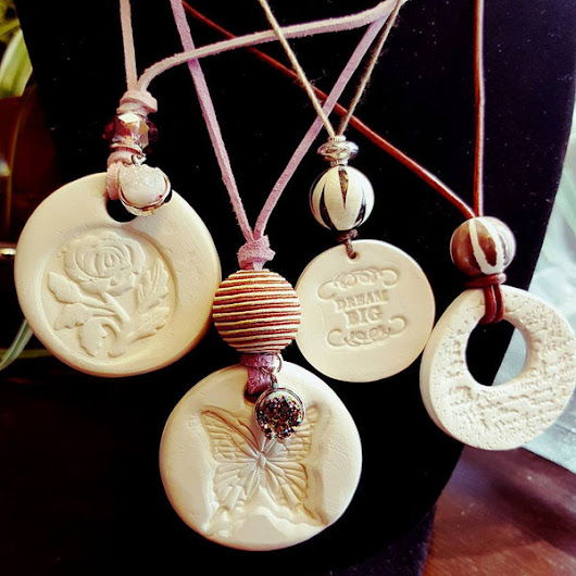 Love These Clay Pendants!!