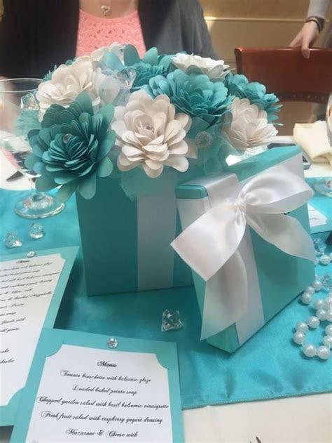Tiffany Themed Bridal/Wedding Shower Party Ideas #2356361