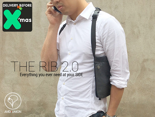 The Rib 2.0: The Ultimate Tech Case at Your Side