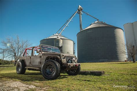 starwood motors jeep wrangler unlimited rat rod jk
