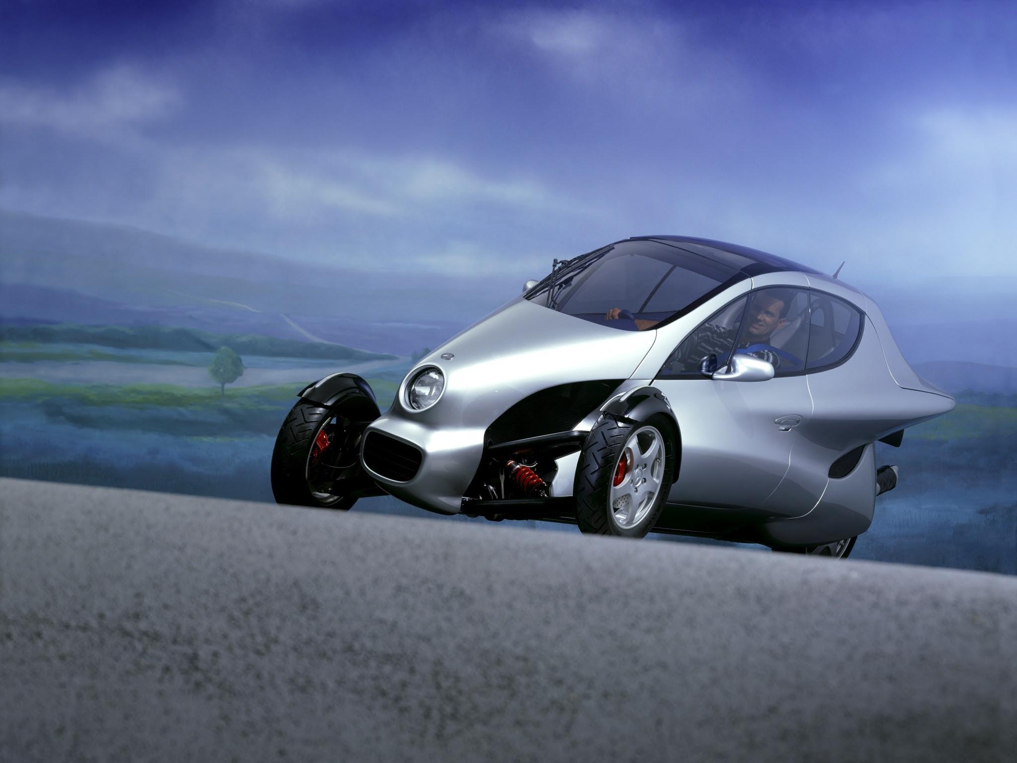 "Mercedes-Benz F300 ""Life Jet"" Concept (1997) - Old Concept ..."