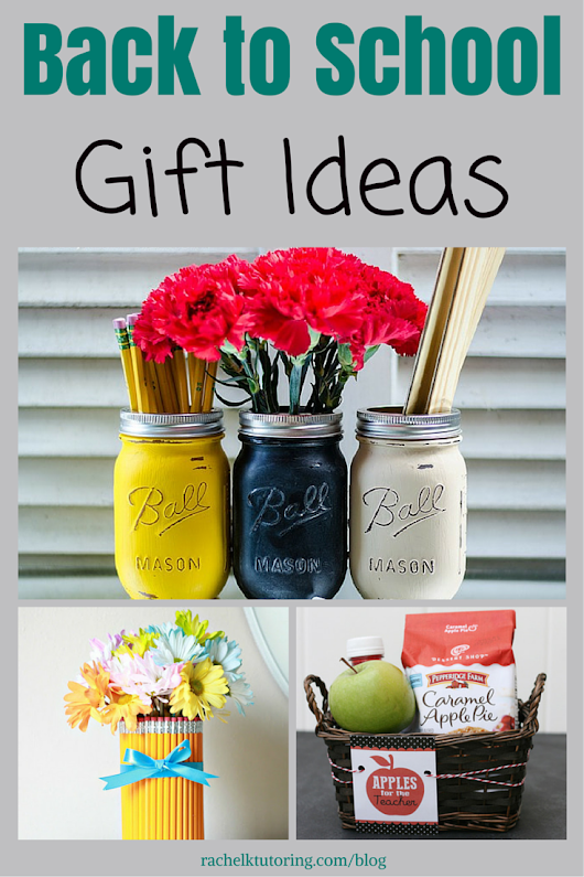 Back to School Gift Ideas - Rachel K Tutoring Blog