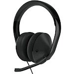Microsoft Xbox One Over-The-Head Stereo Headset - USB - Wired - Black