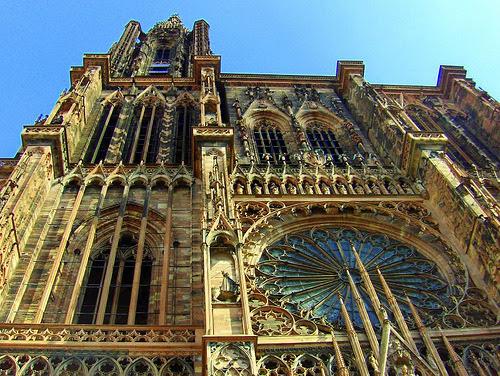 Strasbourg Cathedral, France.