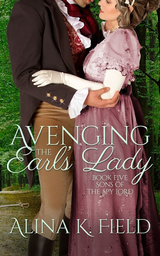 New Release: Avenging the Earl's Lady by @AlinaKField